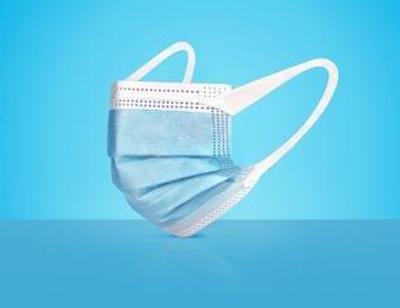 Μάσκες προστασίας προσώπου μίας χρήσης με βρόγχο 3-ply