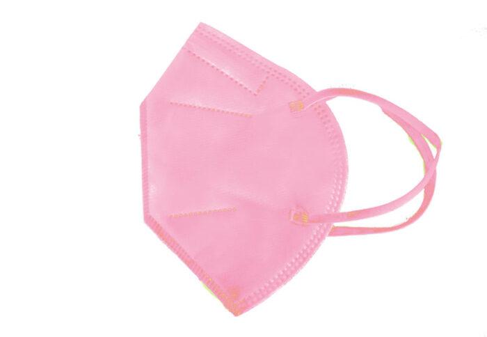 Ροζ μάσκα FFP2 υψηλής προστασίας